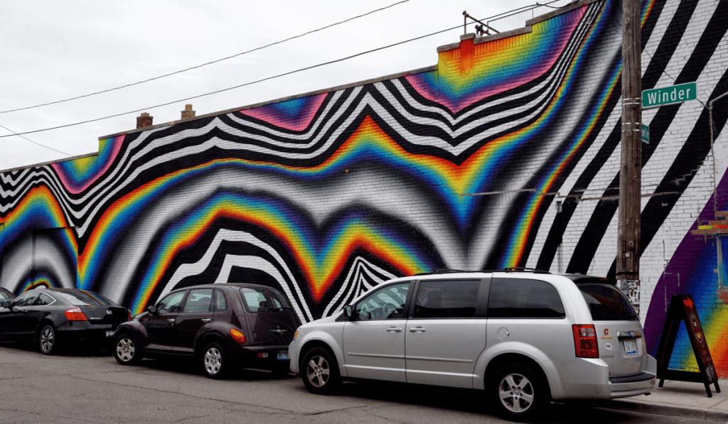 2016 mural by Felipe Pantone