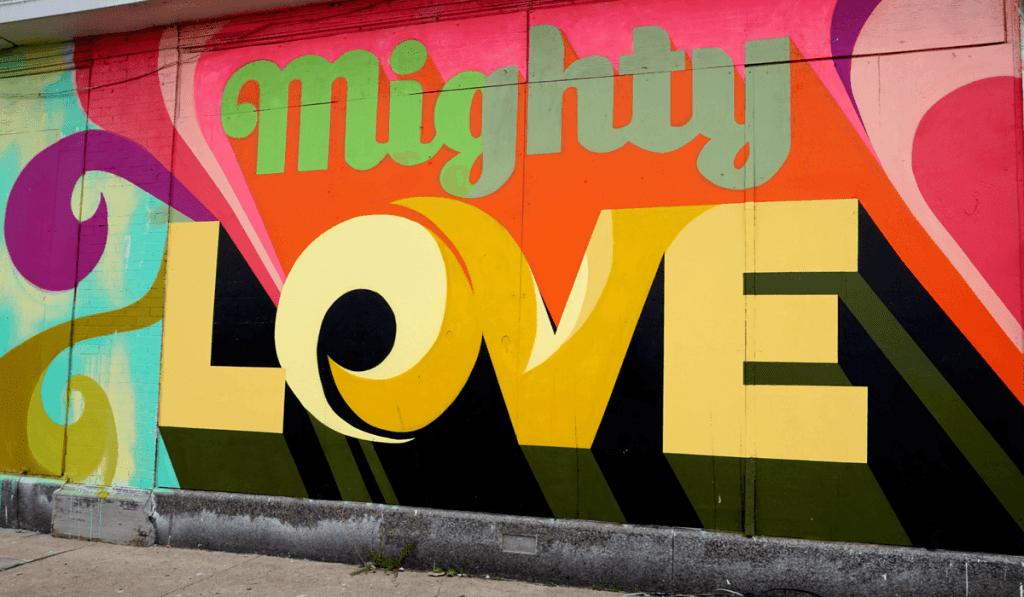 2016 mural by Cey Adams