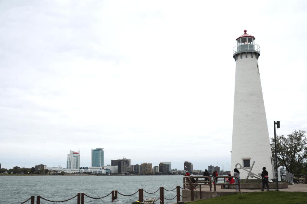 Tri-Centennial Park Light, Milliken State Park lighthouse