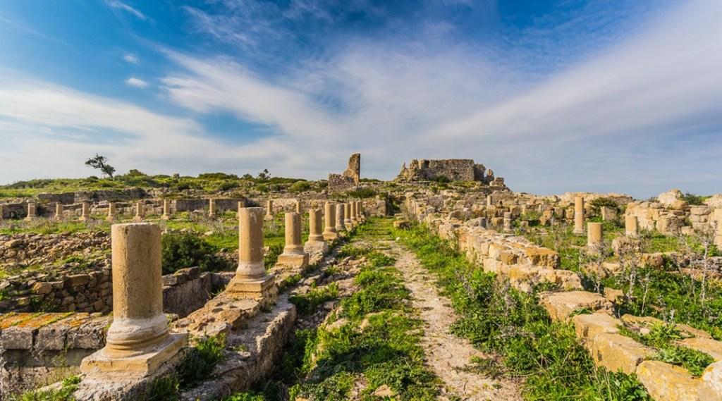roman ruins at Lixus