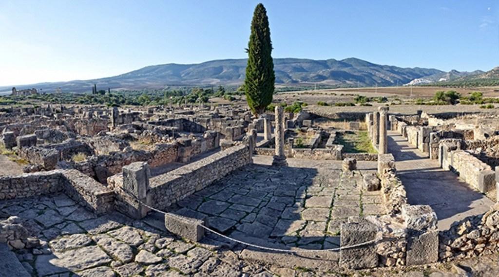 roman ruins at Volubilis