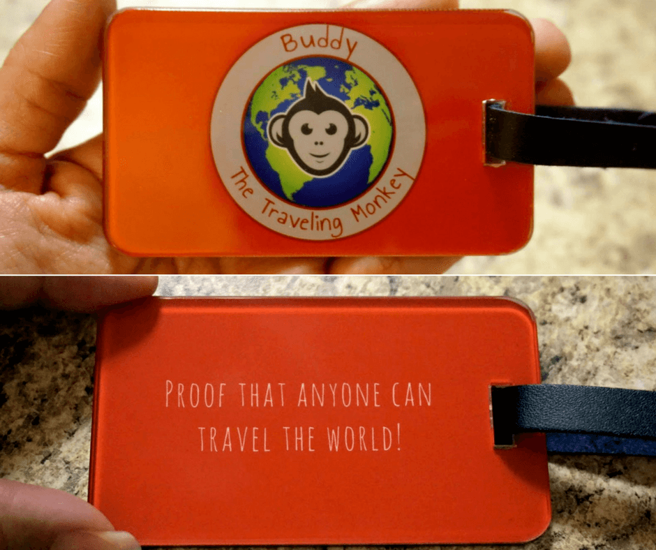 BTTM Luggage Tag Giveaway