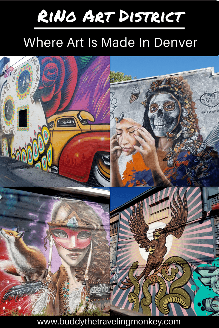 If you're a fan of street art, you need to visit the RiNo Art District, just north of downtown Denver, Colorado.