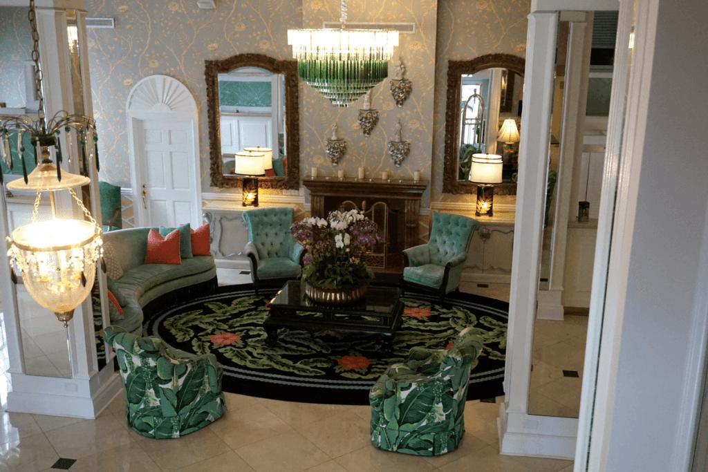Lobby of the Colony Hotel