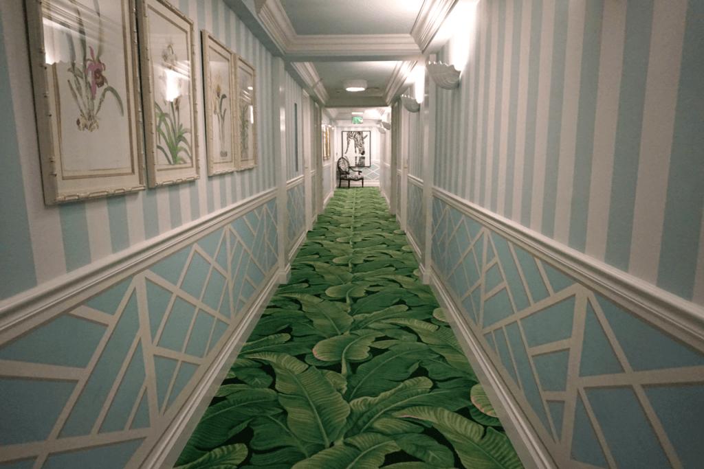 Hallway of the Colony Hotel