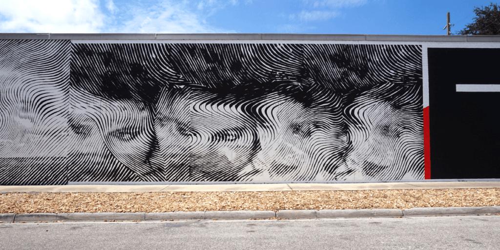 Filio Galvez and Andrew Antonaccio, 2Alas mural in Gainesville