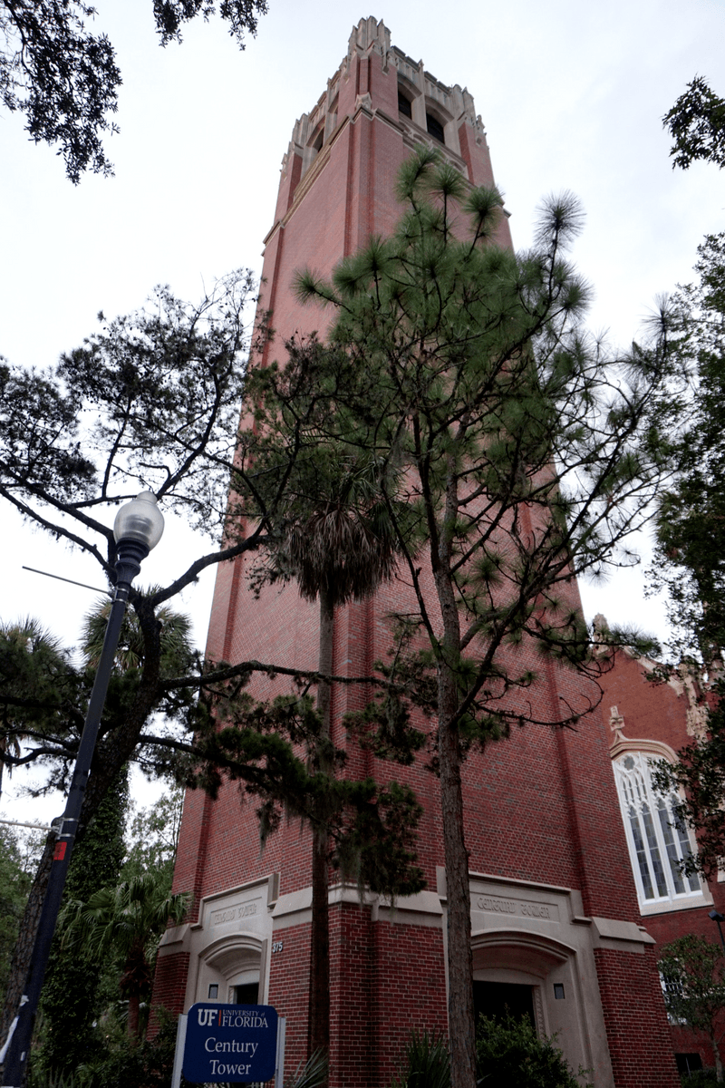 Century Tower on the University of Florida campus