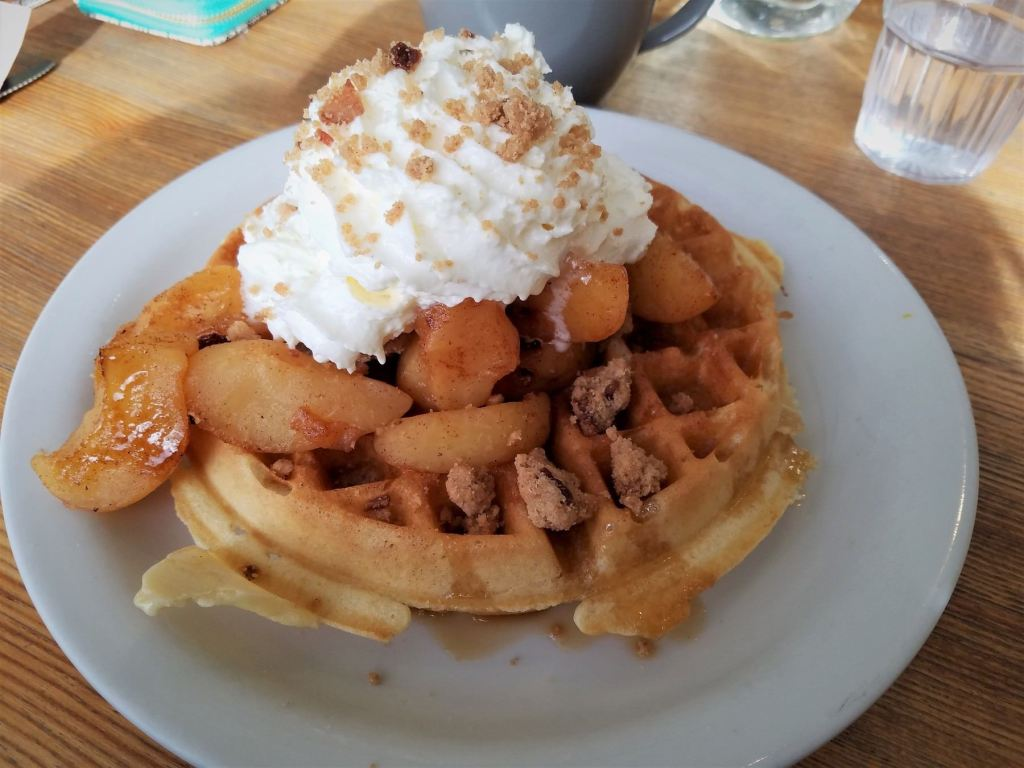 Waffles from Sunny's are the best waffles in Denver