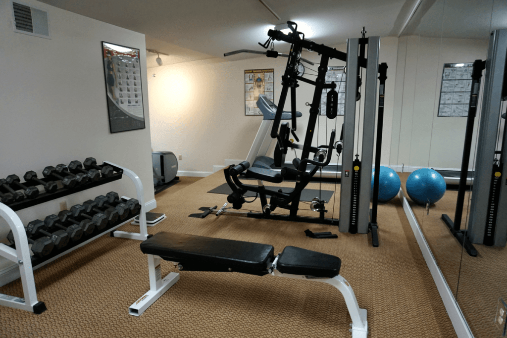 Fitness Center at The Hotel Northampton