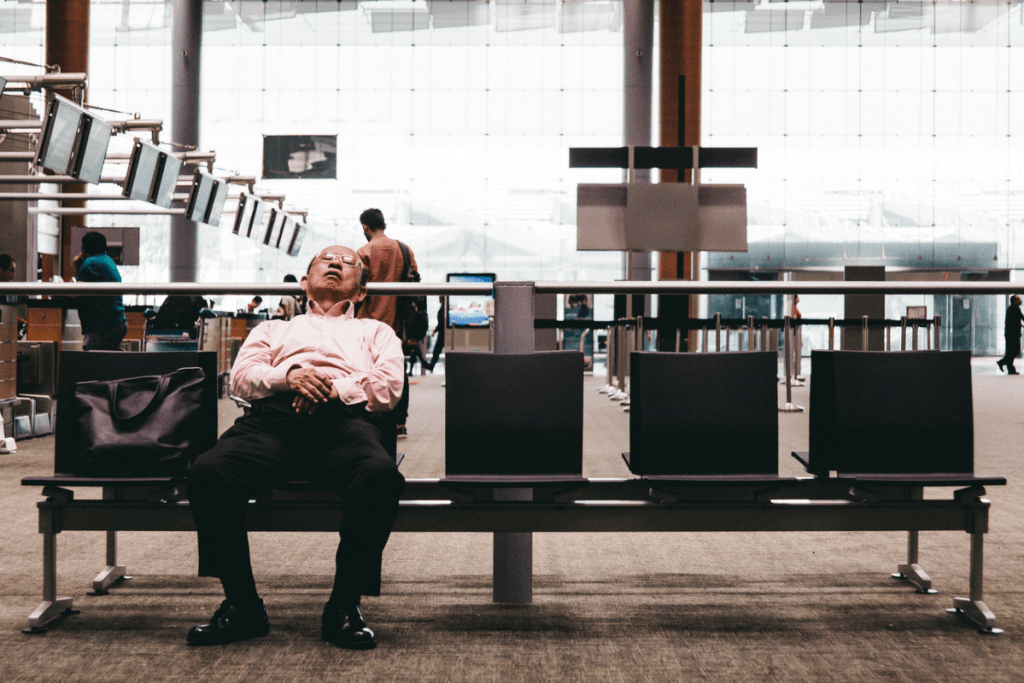 Take a chance and ask for a cot instead of sleeping on the floor at the airport