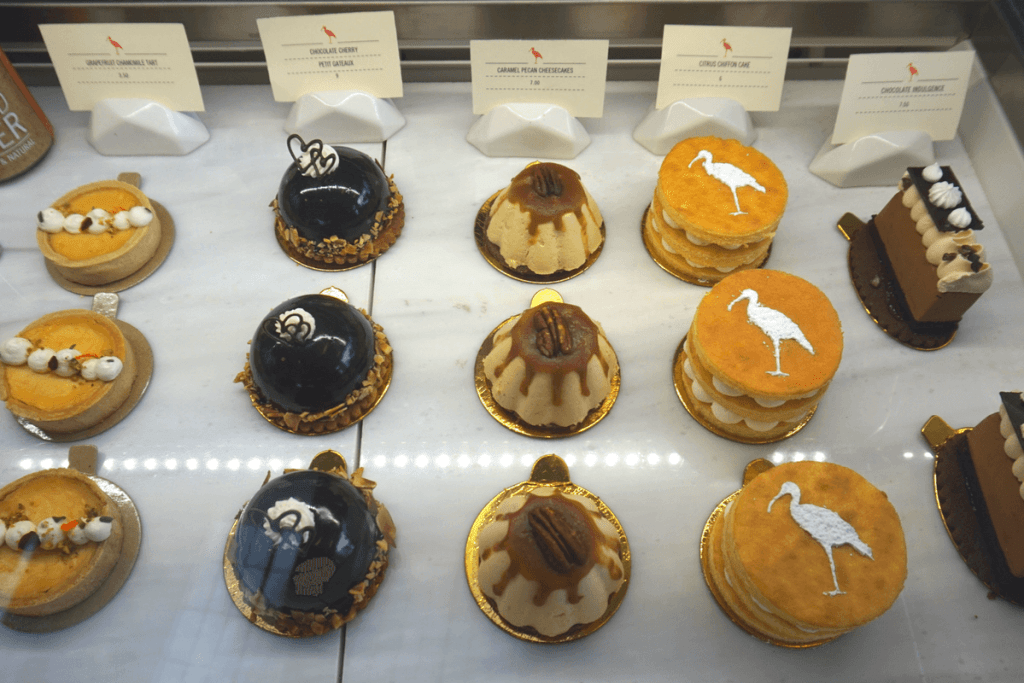 Yummy pastries from Messenger Coffee Co.