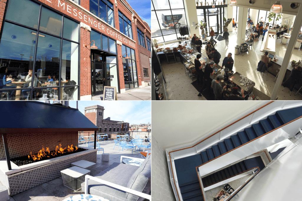Messenger Coffee Company is one of the most unique places to eat in Kansas City