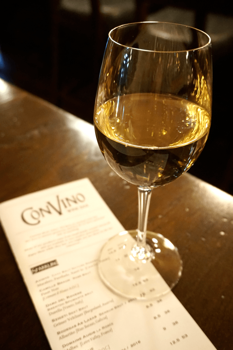 ConVino has an extensive wine list