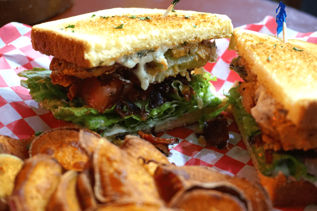 Fried Green Tomato BLT from The Tomato Place in Vicksburg MS