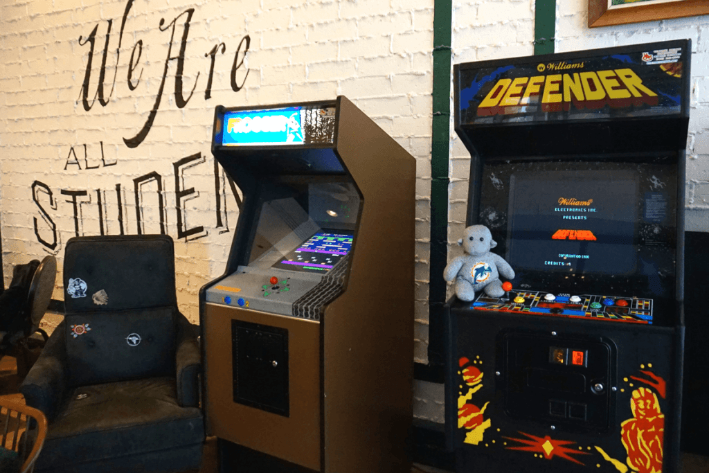 The Graduate Lincoln even has arcade games in its lobby!