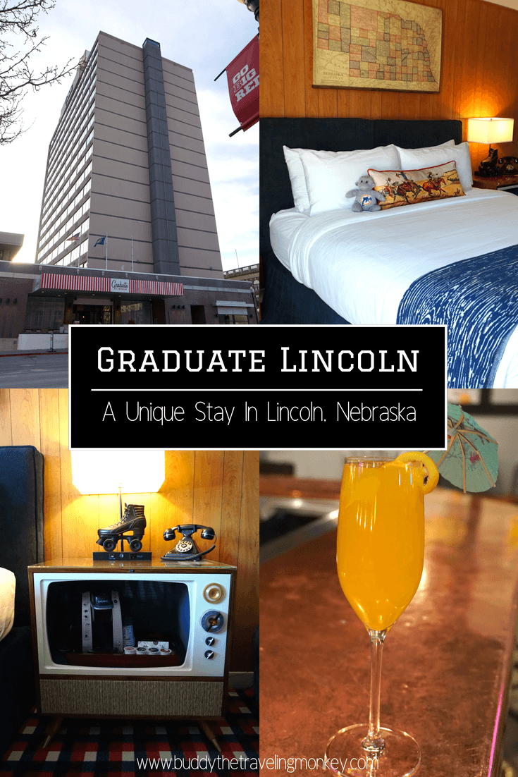 The Graduate Hotel Lincoln is such a unique place to stay in downtown Lincoln, Nebraska. See why we loved this hotel and why you will too!