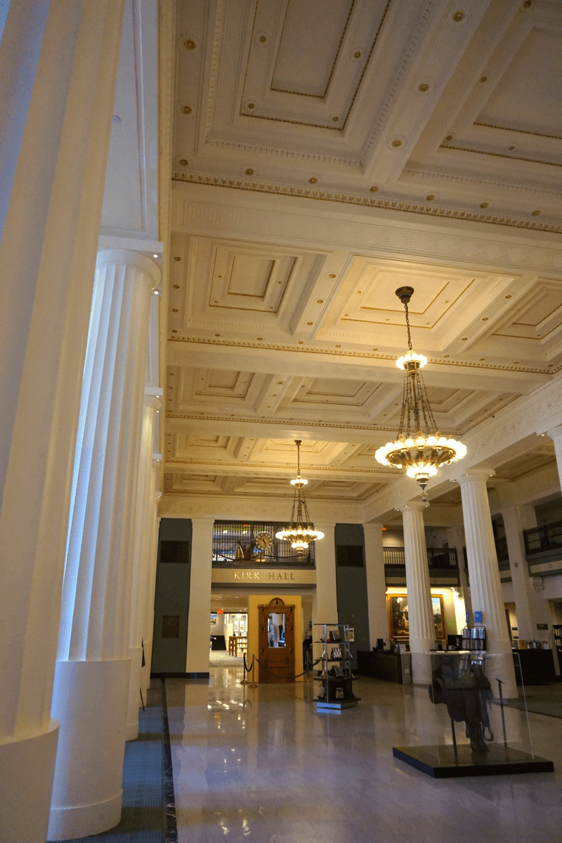 Inside the Kansas City Public Library