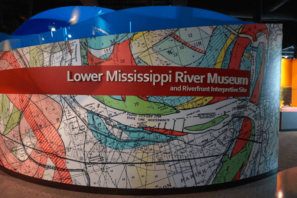 The Jesse Brent Lower Mississippi River Museumis one of the top things to do in Vicksburg MS