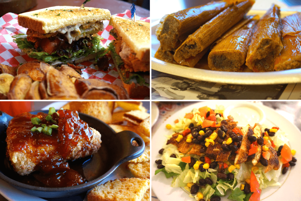 There's a lot of delicious food in Vicksburg