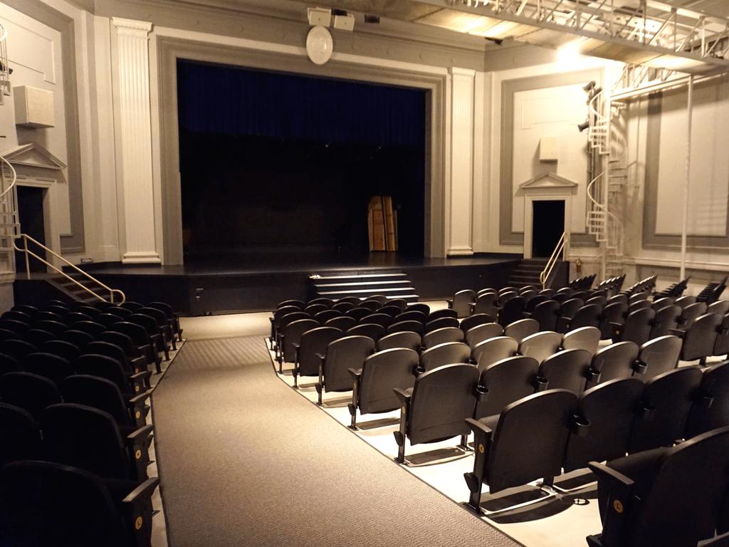 Hotel Grinnell auditorium