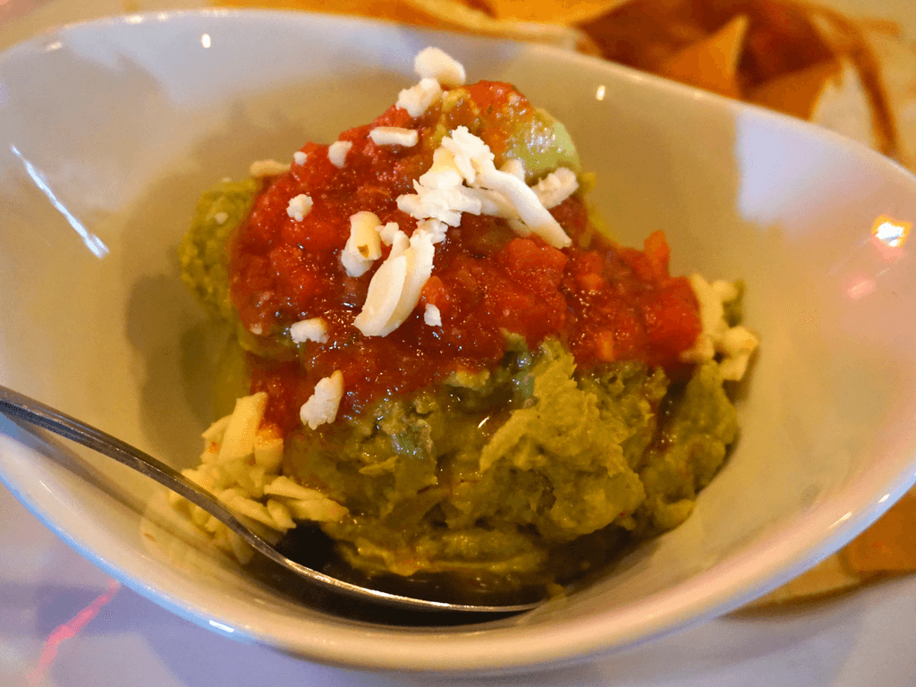 Guacamole & Chips appetizer at LeadBelly, one of the best places to eat in Lincoln NE
