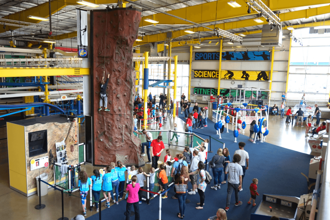 The Carnegie Science Center's Highmark Sports Works has nearly 30 interactive experiences