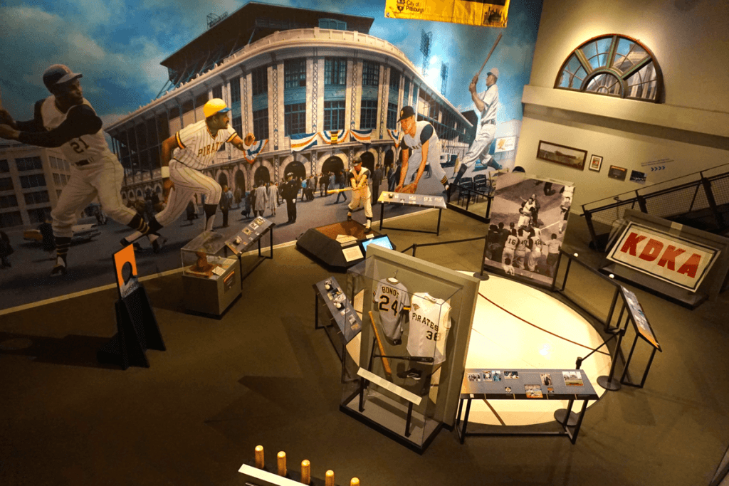 The Western Pennsylvania Sports Museum is a museum within a museum!