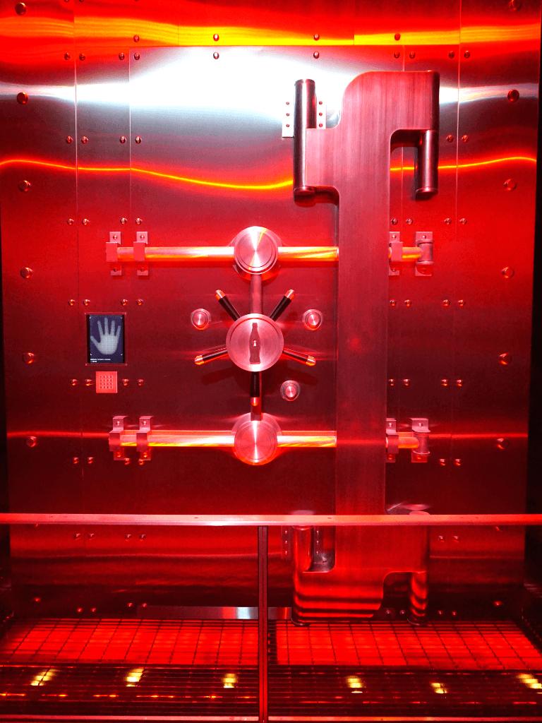 The vault that holds the secret formula!