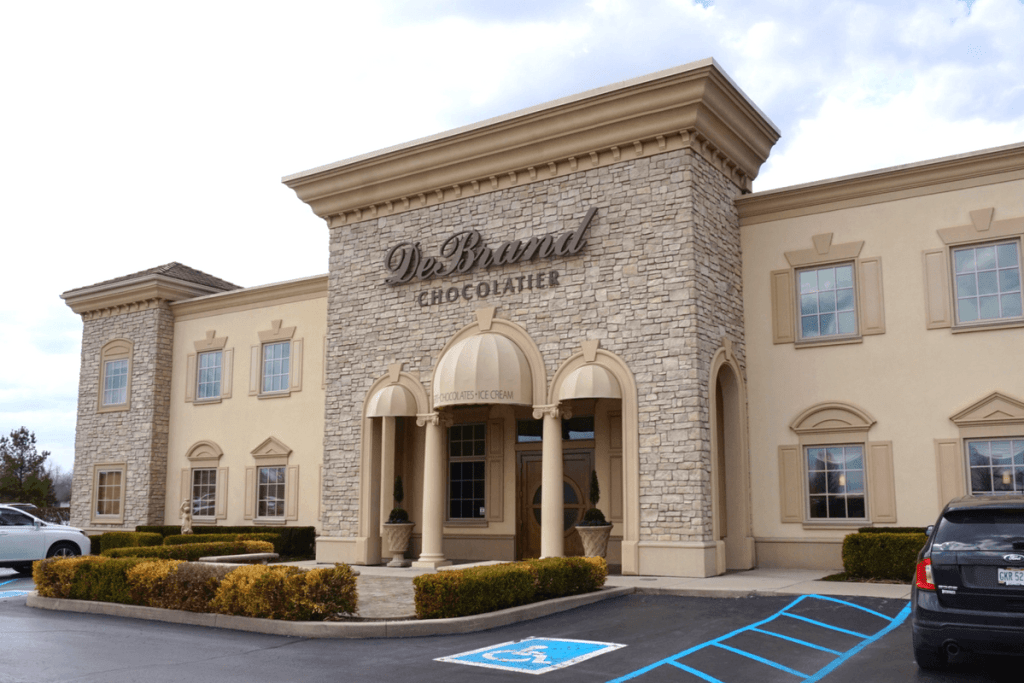 Visiting DeBrand Fine Chocolates is one of the best things to do in Fort Wayne Indiana