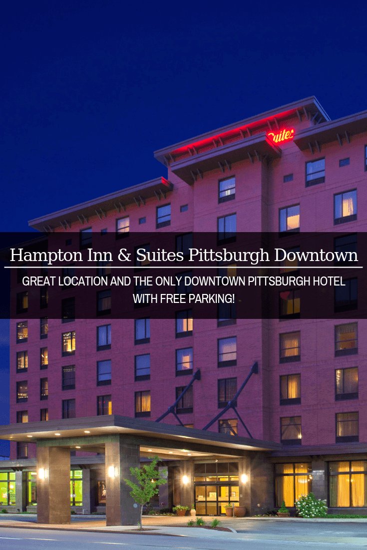 Wondering where to stay in Pittsburgh, Pennsylvania? We recommend the Hampton Inn Pittsburgh Downtown. It's in a great location and it's the only downtown Pittsburgh hotel with free parking!