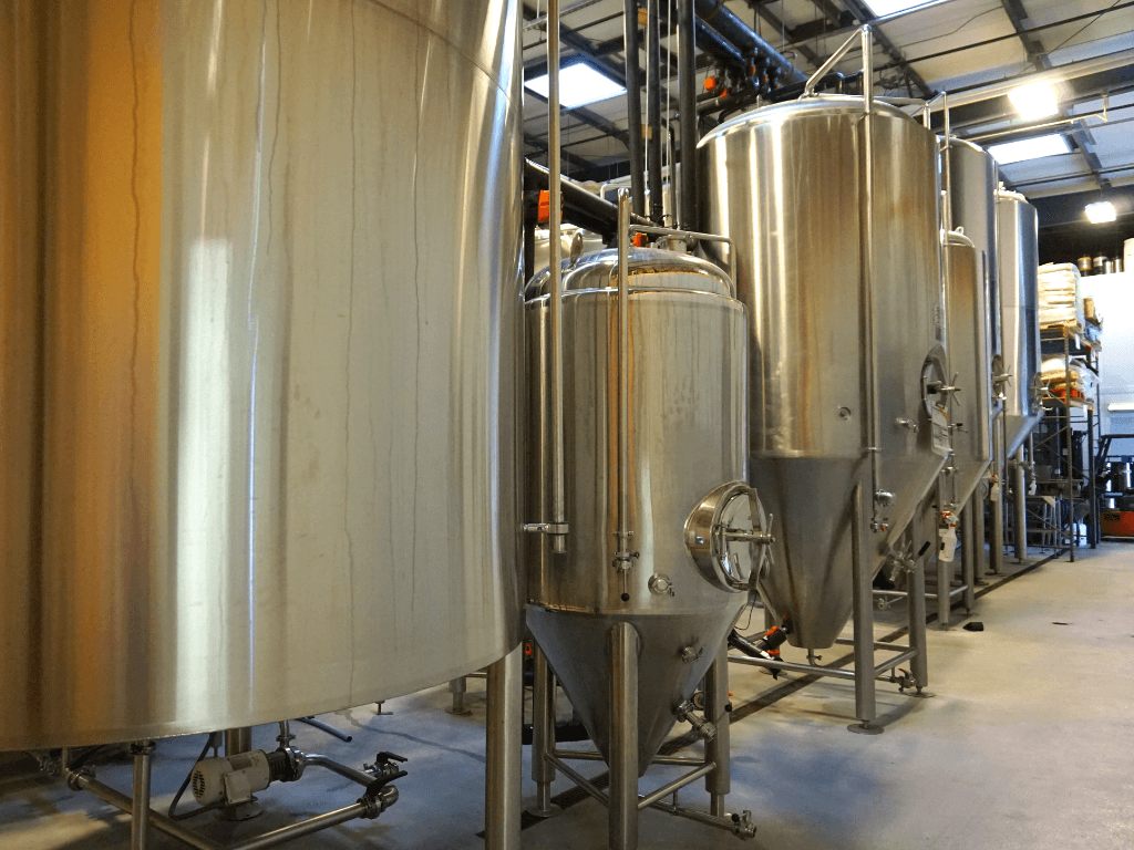 Getting a behind the scenes look at Swamp Head Brewery