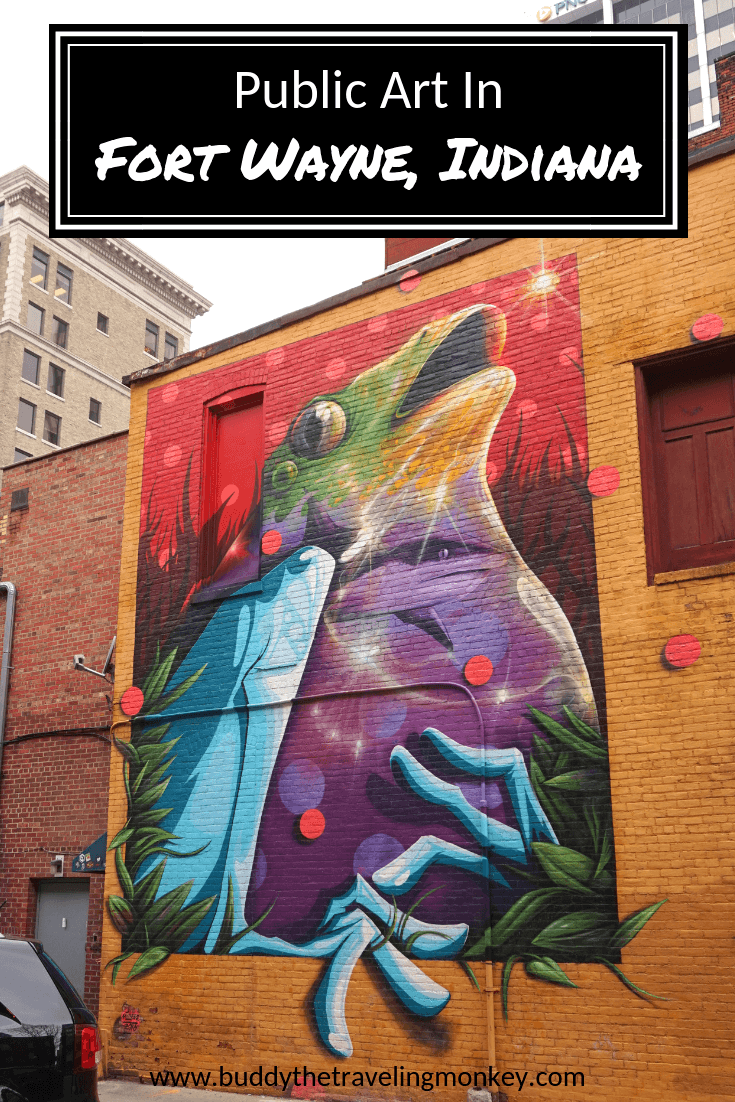 Get to know the public art in Fort Wayne, Indiana! We'll show you some of our favorite murals in Fort Wayne as well as impressive sculptures.