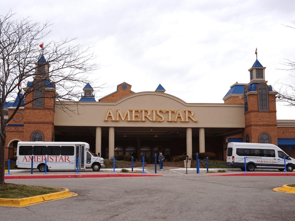 The Ameristar in Council Bluffs