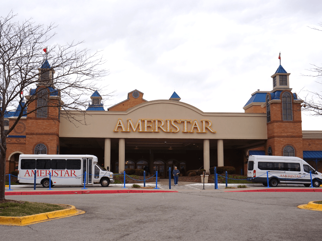 The Ameristar in Council Bluffs