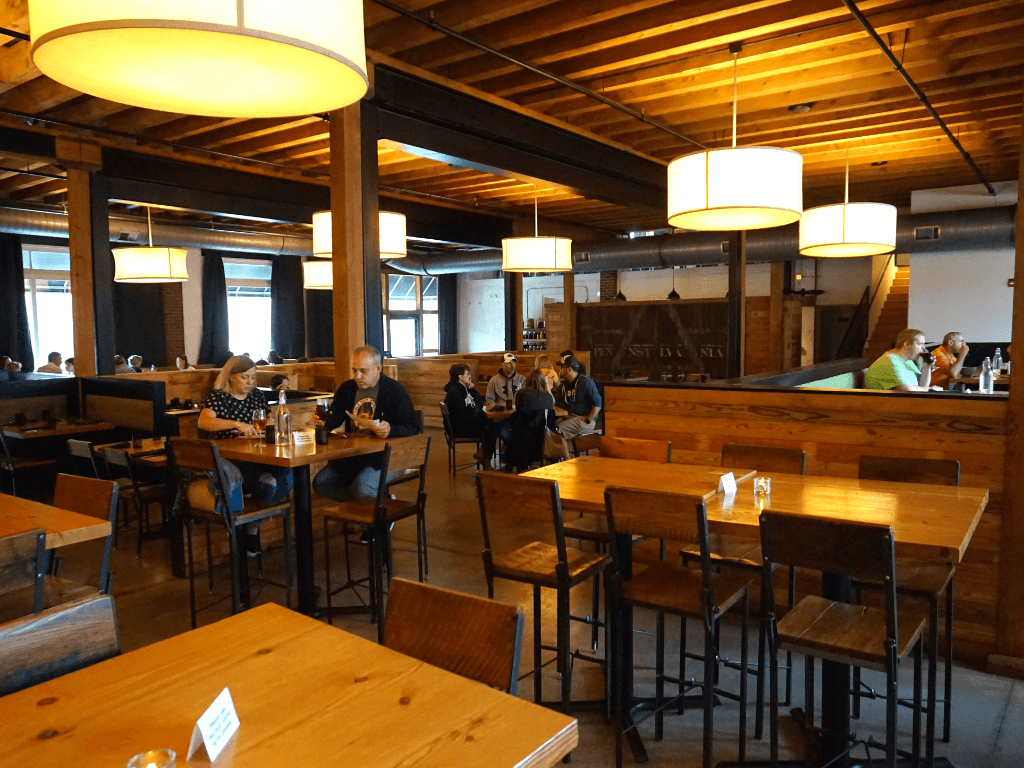 The Millworks restaurant has locally sourced dishes
