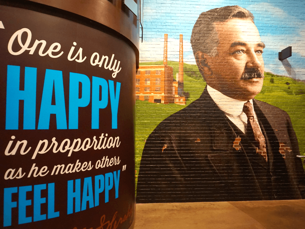 Milton Hershey truly wanted to make the world a better place