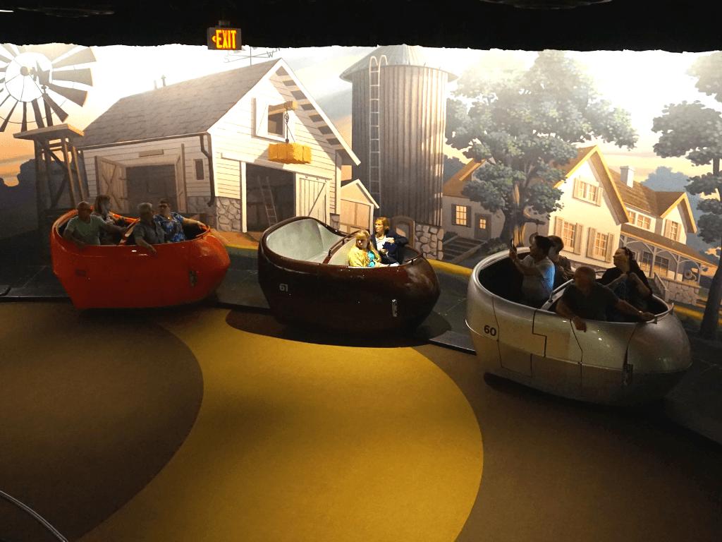 Hershey's Chocolate Tour ride