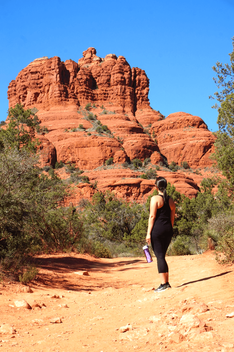 Lot's of great trails in Sedona, LifeStraw review