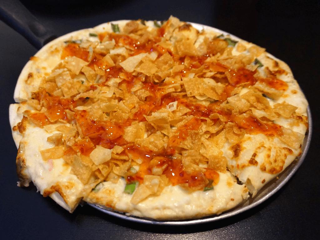 Crab Rangoon Pizza from Fong's
