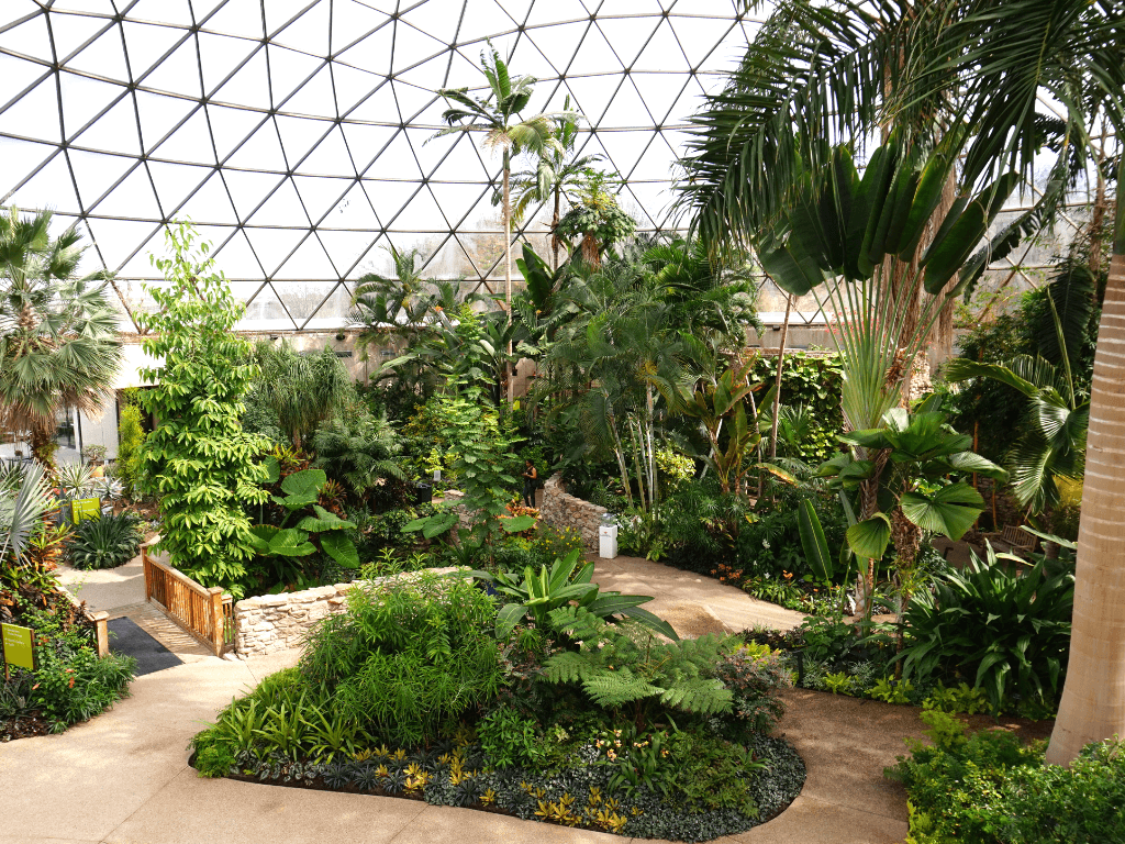Things to see in Des Moines include the Greater Des Moines Botanical Garden