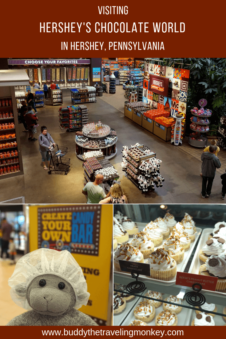 Hershey's Chocolate World in Hershey, PA is so fun! Read our guide for information about its attractions, ticket prices, hours, and parking.
