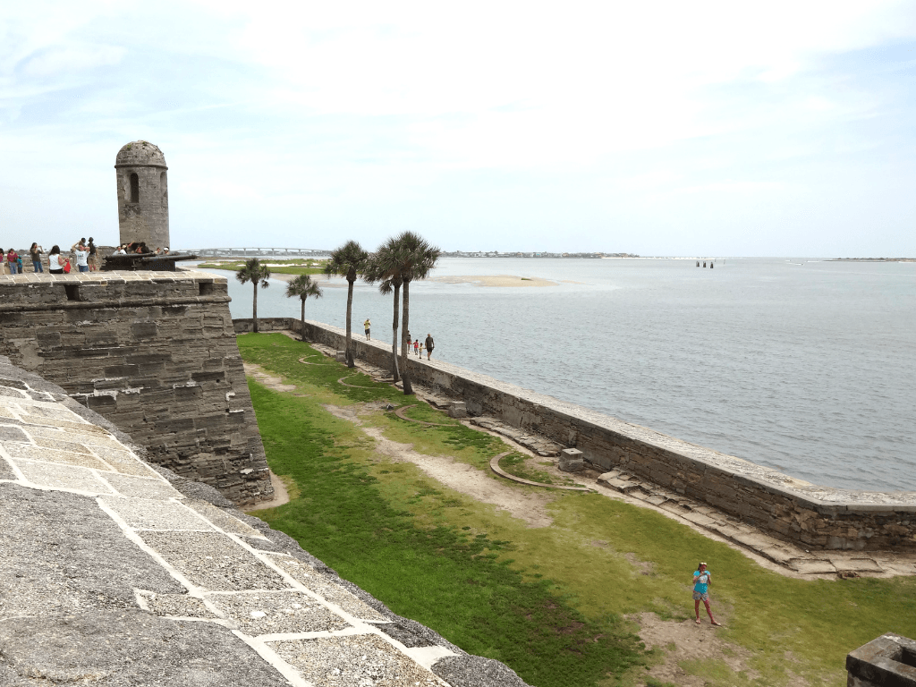 Castillo de San Marcos is one of the top St. Augustine attractions