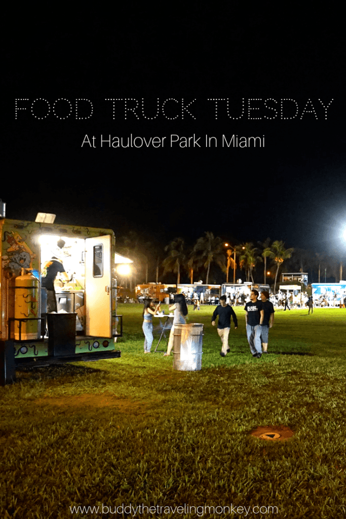Food Truck Tuesday at Haulover Park is a great way to taste Miami's diverse cuisine. The family friendly event also has live music and fun activities for the kids.
