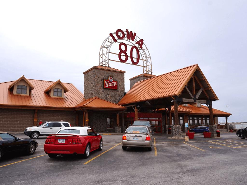 The World's Largest Truck Stop in Walcott, Iowa