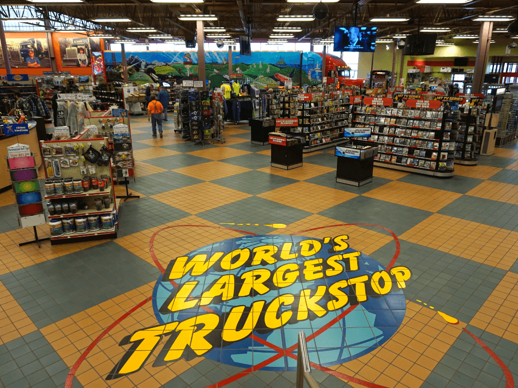 biggest truck stop in the world