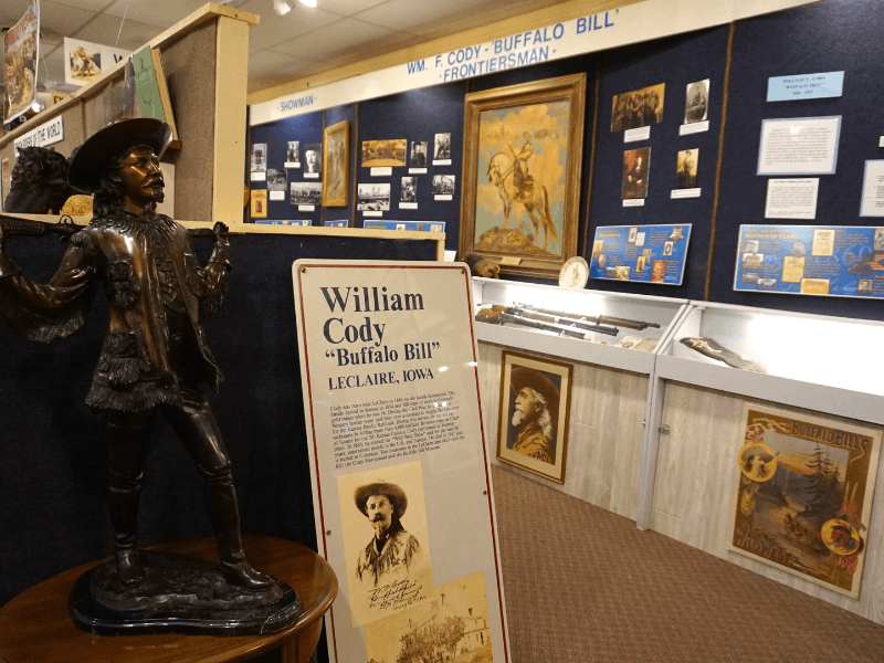 Buffalo Bill Museum in LeClaire, Iowa