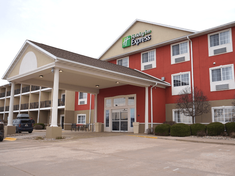 Holiday Inn Express LeClaire Riverfront Davenport