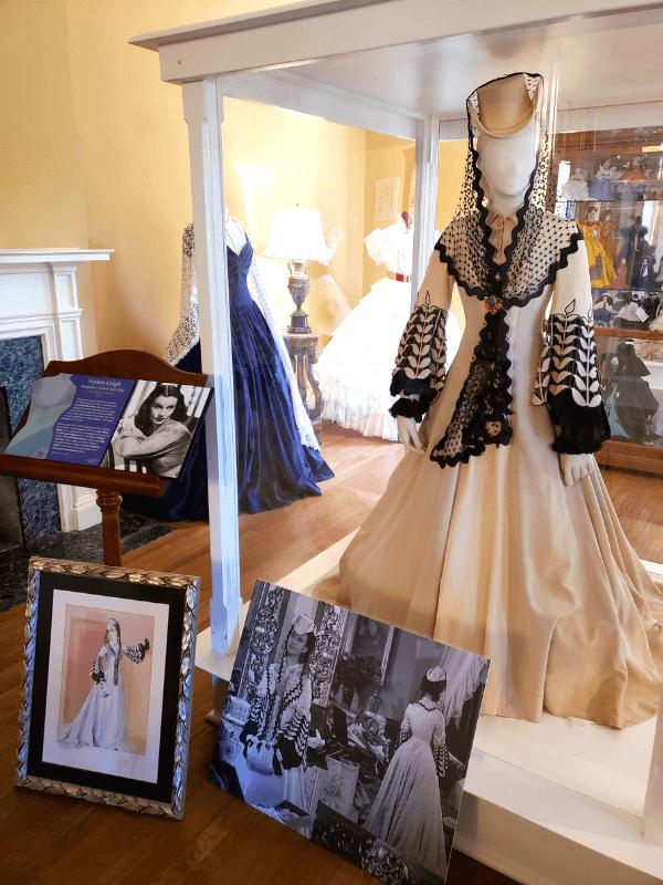 The original Bengaline Honeymoon Gown worn by actress Vivien Leigh