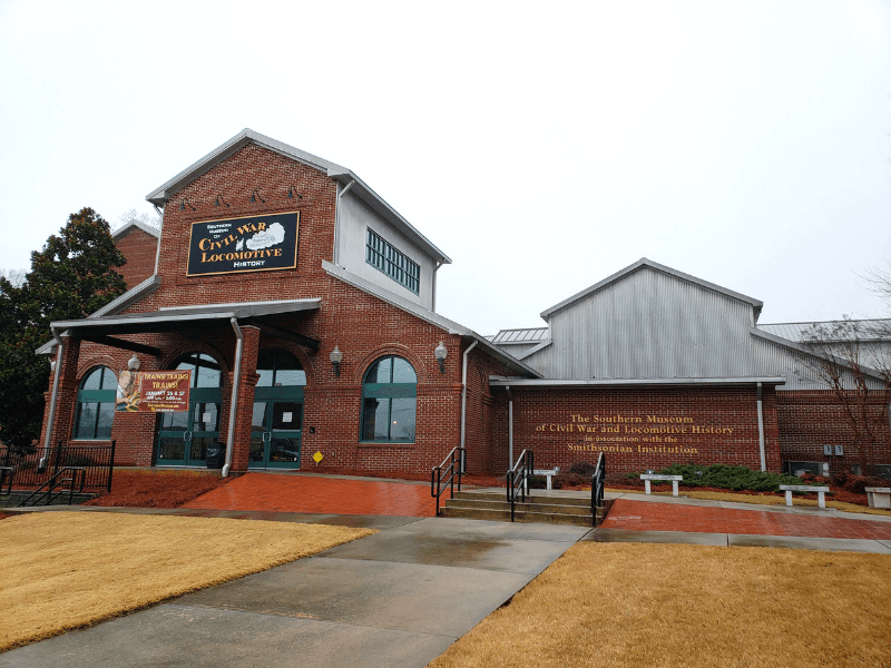 The Southern Museum of Civil War & Locomotive History in Kennesaw Georgia