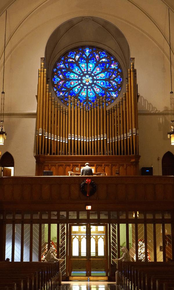 St Patrick's organ